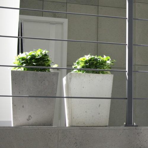 Donica z betonu architektonicznego GRC Fiore producenta Artis visio