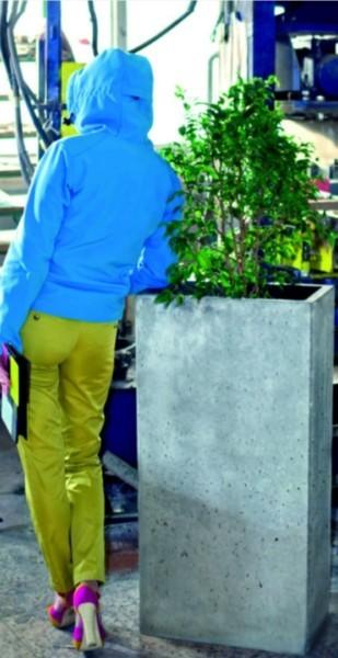 Donica zewnętrzna z betonu IVO Artis Visio