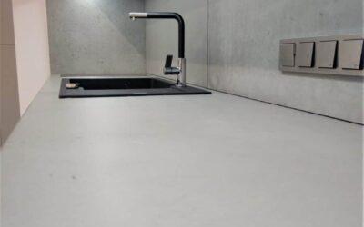Blat z betonu architektonicznego