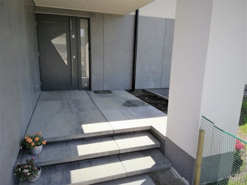 Niewiarygodnie Płyty betonowe elewacyjne i elewacje betonowe 11 mm HH89