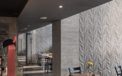 Beton Architektoniczny w restauracji Nadwiślański Świt