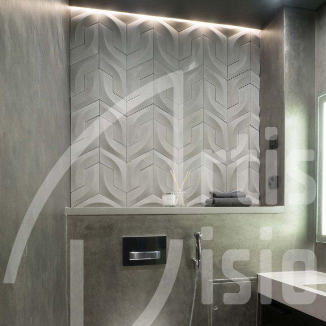 Skandynawski design i płytki betonowe 3d Artis Visio