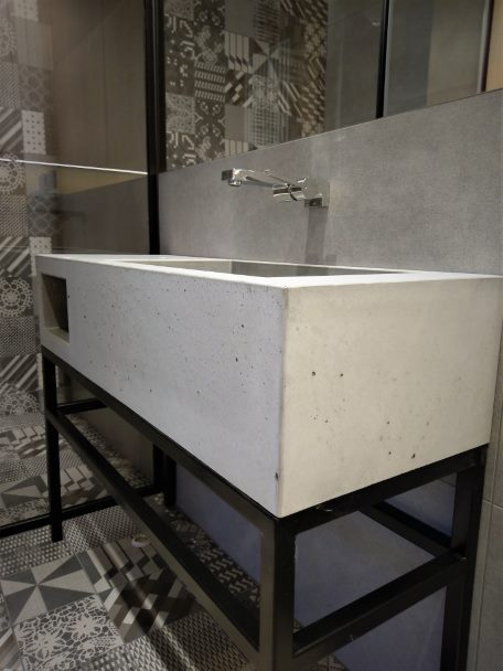 Umywalki betonowe na zamówienie