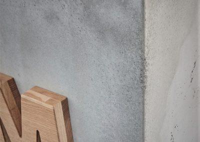 beton dekorazyjny lada