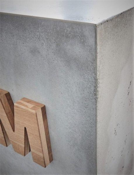 beton dekoracyjniej lada