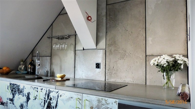 blat z betonu architektonicznego i plyty