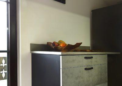 meble z szufladami betonwymi