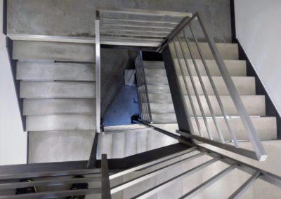 stopnice z betonu