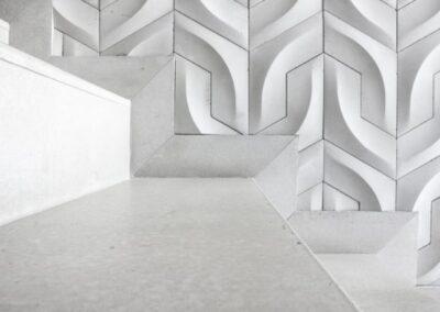 concrete stair steps