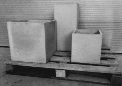 donice betonowe modele cube
