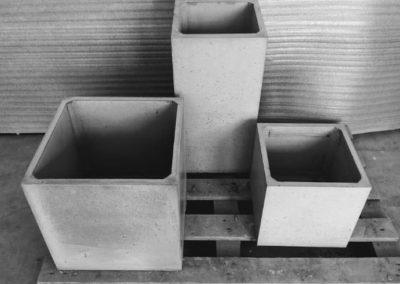 donice betonowe cube