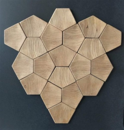 oak wood tile