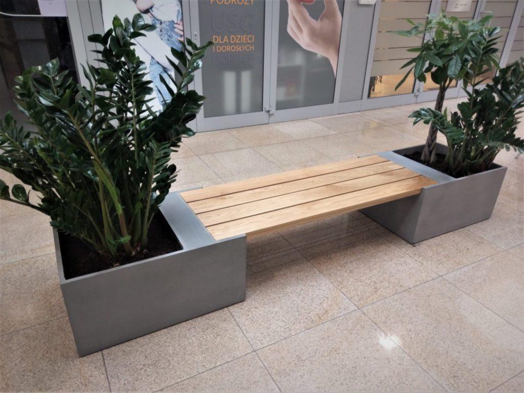 Ławki z betonu