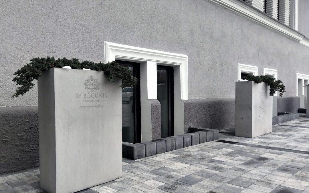donice betonowe wykonane na zamówienie