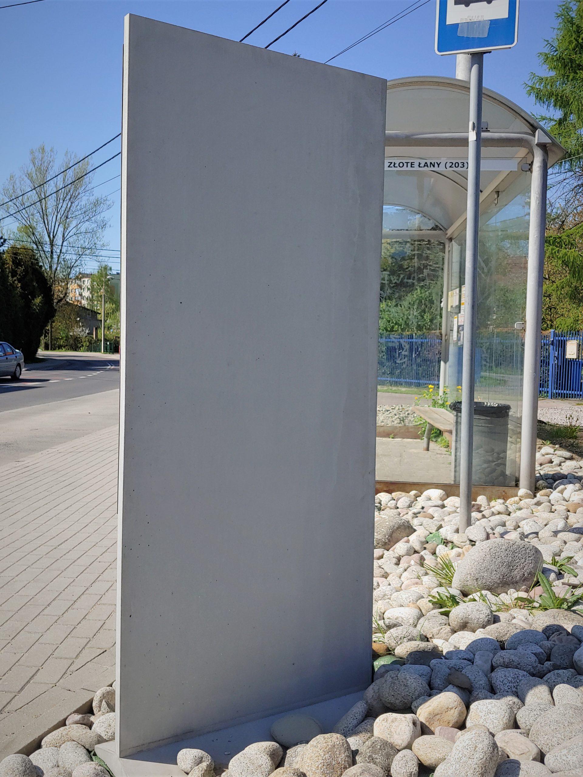 slup betonowy