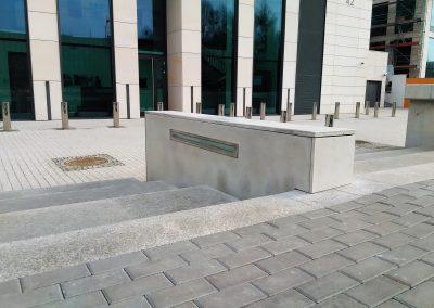 Okładzina monolityczna betonowa