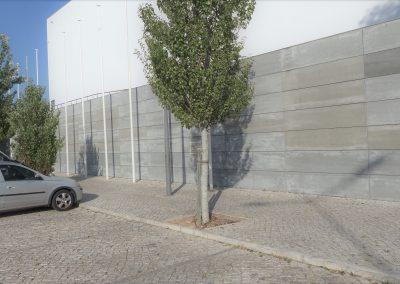 Elewacja wentylowana betonowa