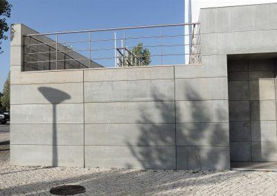 Płyty beton architektoniczny na elewacji