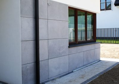 Okładzina elewacyjna z płyt betonowych 18 mm