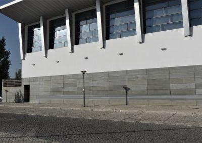Elewacja wentylowana z płyt betonowych