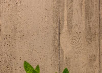 Płyta betonowa z odciskiem deski szalunkowej