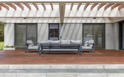 Rezydencja z elewacją z płyt architektonicznych GRC