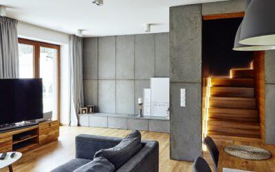 Płyty ścienne i podłogowe z betonu architektonicznego – 4 do 11 mm
