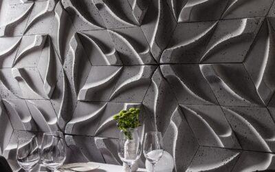 Płytka betonowa ścienna model Tzara