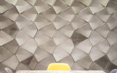 Płytki betonowe ścienne model PERO