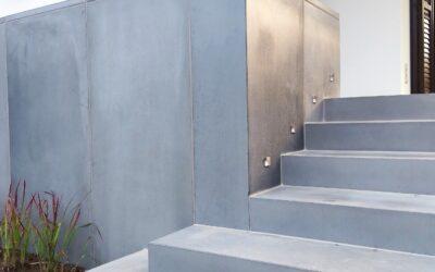 Betonowe schody dywanowe