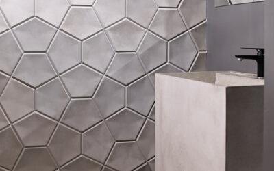 Płytki betonowe ścienne model KILI / KILI s.